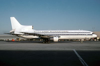Kitty Hawk International (2nd) Lockheed L-1011-385-1-15 TriStar 200 N102CK (msn 1198) LAX (Roy Lock). Image: 911914.