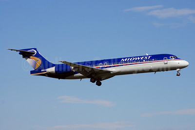 Midwest Airlines (USA) Boeing 717-2BL N924ME (msn 55190) DCA (Bruce Drum). Image: 100801.