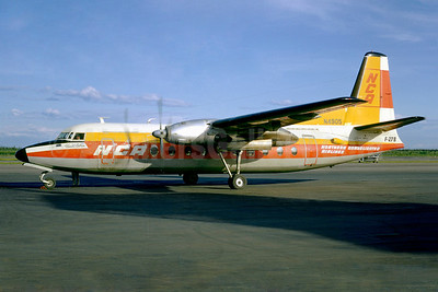 Northern Consolidated Airlines-NCA Fairchild F-27B N4905 (msn 49) (Jacques Guillem Collection). Image: 922281.
