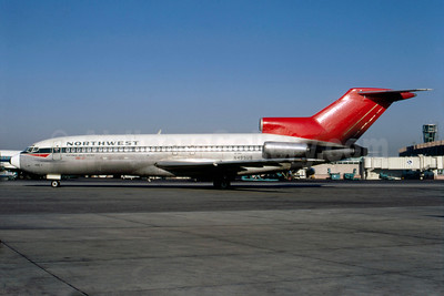 Northwest Orient Airlines Boeing 727-51C N495US (msn 103161) JFK (Bruce Drum). Image: 103161.
