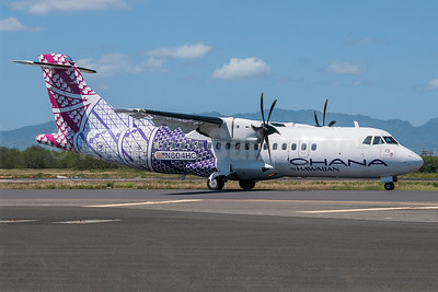 Ohana by Hawaiian-Empire Airlines ATR 42-500 N804HC (msn 623) HNL (Ivan K. Nishimura). Image: 922268.