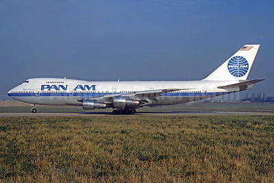 Pan Am's 1984 experimental color scheme