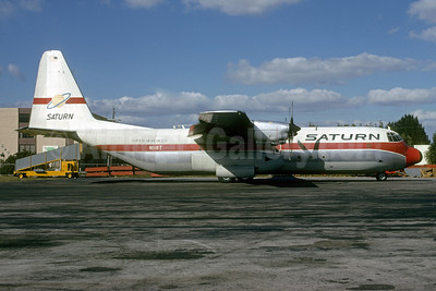 Saturn Airways Lockheed 382G (L-100-30) Hercules N11ST (msn 4384) MIA (Bruce Drum). Image: 103167.