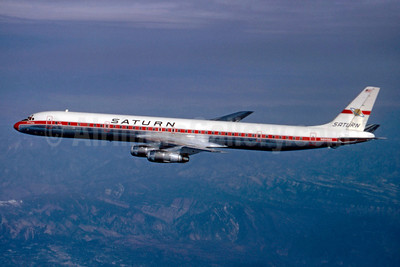 Saturn Airways McDonnell Douglas DC-8-61CF N8956U (msn 45949) (Stephen Tornblom Collection). Image: 921267.