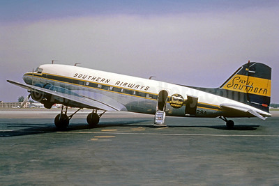 Southern Airways Douglas DC-3-314A N92SA (msn 2240) (Christian Volpati Collection). Image: 922283.