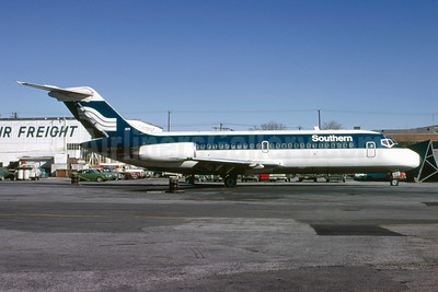 Southern Airways Douglas DC-9-14 N3307L (msn 45702) ATL (Bruce Drum). Image: 102369.
