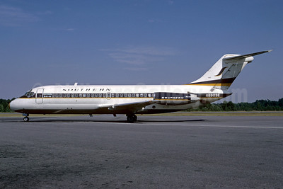 Southern Airways Douglas DC-9-14 N8903E (msn 45744) CSG (Bruce Drum). Image: 101953.
