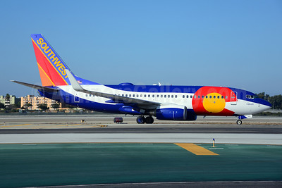 Southwest Airlines Boeing 737-7H4 WL N230WN (msn 34592) (Colorado One) LAX (Ton Jochems). Image: 921293.
