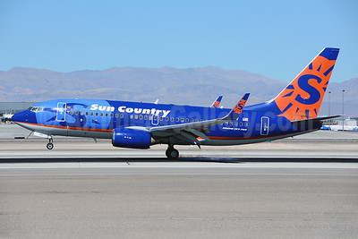 Sun Country Airlines Boeing 737-73V N711SY (msn 30245) LAS (Ton Jochems). Image: 921544.