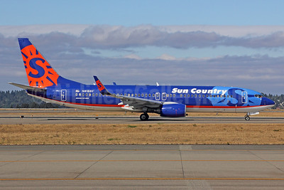 Sun Country Airlines Boeing 737-8Q8 WL N816SY (msn 30637) SEA (Michael B. Ing). Image: 922681.