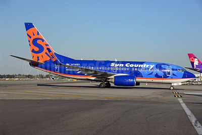 Sun Country Airlines Boeing 737-752 WL N714SY (msn 33786) LAX (Ton Jochems). Image: 921545.