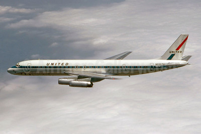 United Airlines McDonnell Douglas DC-8-62 N8967U (msn 46068) (Stephen Tornblom Collection). Image: 921628.