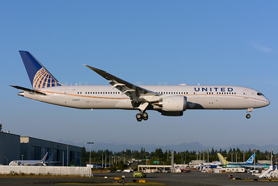 First flight of first United Boeing 787-9