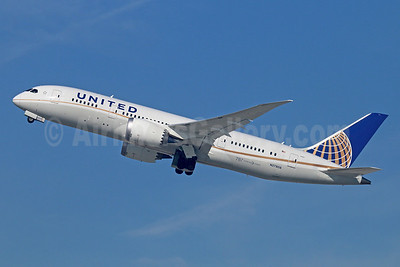 United Airlines Boeing 787-8 Dreamliner N27908 (msn 36400) LAX (Michael B. Ing). Image: 922173.
