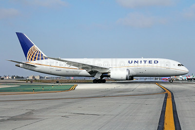 United Airlines Boeing 787-8 Dreamliner N26906 (msn 34829) LAX. Image: 923838.