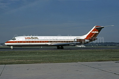 USAir McDonnell Douglas DC-9-31 N933VJ (msn 47216) (Bruce Drum Collection). Image: 101054.