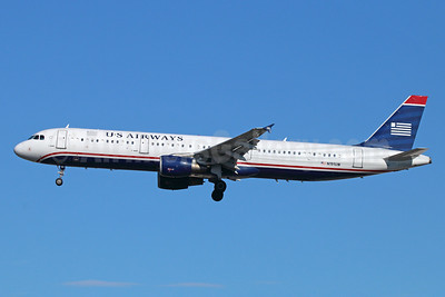 US Airways Airbus A321-211 N191UW (msn 1447) LAX (Michael B. Ing). Image: 921368.