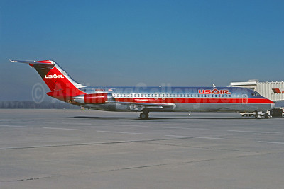 USAir McDonnell Douglas DC-9-31 N919VJ (msn 48139) (Christian Volpati Collection). Image: 921231.