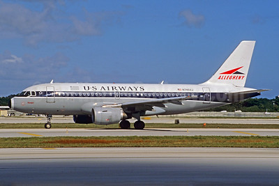 US Airways Airbus A319-112 N745VJ (msn 1289) (Allegheny Airlines retrojet) FLL (Christian Volpati Collection). Image: 923754.