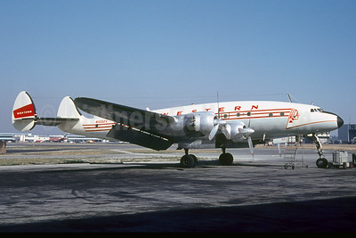 Western Airlines Lockheed 749A Constellation N1552V (msn 2505) SEA (Jacques Guillem Collection). Image: 927702.
