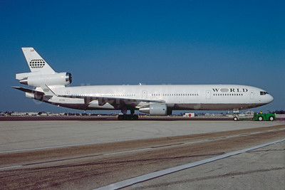 World Airways McDonnell Douglas MD-11 N271WA (msn 48518) MIA (Bruce Drum). Image: 103480.