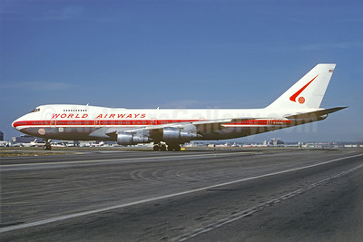 World Airways Boeing 747-273C N748WA (msn 20652) LAX (Jacques Guillem Collection). Image: 923325.