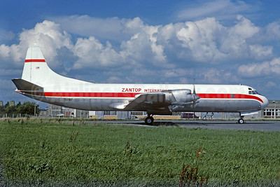 Zantop International Airlines Lockheed 188A (F) Electra N281F (msn 1079) (Christian Volpati Collection). Image: 923321.