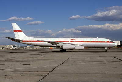 Zantop International Airlines McDonnell Douglas DC-8-62CF N799AL (msn 45922) LAX (Roy Lock). Image: 923320.