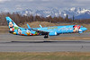 Alaska Airlines Boeing 737-990 WL N318AS (msn 30018) (Spirit of Disneyland II) ANC (Tony Storck). Image: 904964.