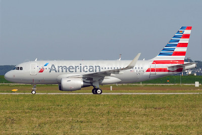 American Airlines Airbus A319-112 WL D-AVYQ (N8001N) (msn 5678) (Sharklets) XFW (Gerd Beilfuss). Image: 912859.