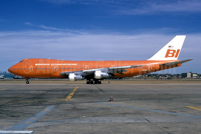 Braniff International Airways (1st) Boeing 747-127 N601BN (msn 20207) DAL (Bruce Drum). Image: 102307.