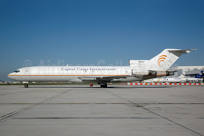 Capital Cargo International Airlines Boeing 727-223 (F) N715AA (msn 22470) MIA (Bruce Drum). Image: 100134.