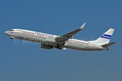 Continental Airlines Boeing 737-924 ER WL N75436 (msn 33531) (1947 Blue Skyway retrojet) FLL (Bruce Drum). Image: 101760.