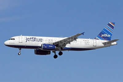 JetBlue Airways Airbus A320-232 N633JB (msn 2671) (Barcode) LAX (Michael B. Ing). Image: 910304.