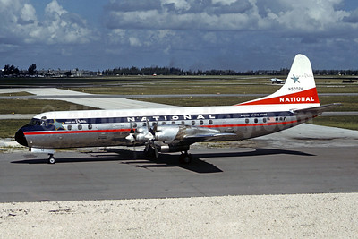National Airlines (1st) Lockheed 188A Electra N5002K (msn 1059) MIA (Jacques Guillem Collection). Image: 907917.