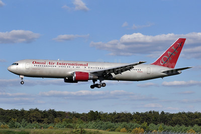 Omni Air International-OAI Boeing 767-319 ER N396AX (msn 26264) BWI (Tony Storck). Image: 909676.