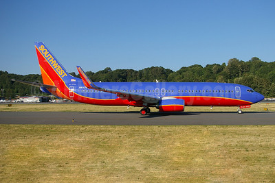 Southwest Airlines Boeing 737-8H4 WL N8317M (msn 36992) BFI (Joe G. Walker). Image: 909006.