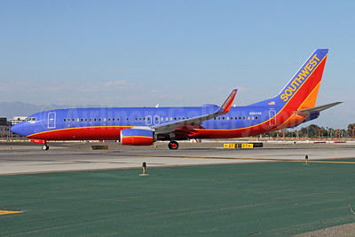 Southwest Airlines Boeing 737-8H4 WL N8604K (msn 39883) LAX. Image: 909053.
