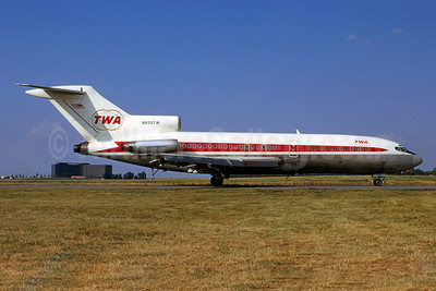 TWA (Trans World Airlines) Boeing 727-31 N859TW (msn 18578) STL (Bruce Drum). Image: 103001.
