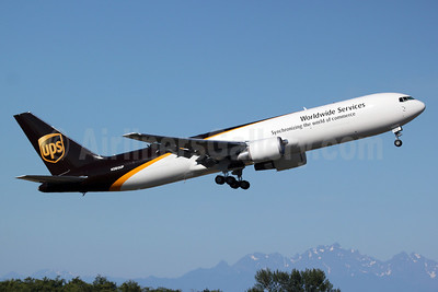 UPS Airlines (UPS-Worldwide Services) Boeing 767-34AF ER N360UP (msn 37946) PAE (Nick Dean). Image: 913281.