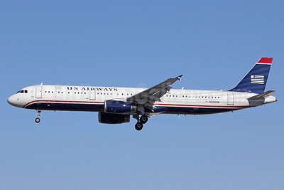US Airways Airbus A321-231 N559UW (msn 5292) LAX (Michael B. Ing). Image: 911252.