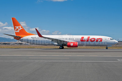Lion Air Boeing 737-9GP ER WL PK-LJZ (msn 37296) (70th Boeing Next-Generation 737) HNL (Ivan K. Nishimura). Image: 909070.