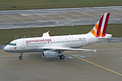 Germanwings (2nd) Airbus A319-132 D-AGWT (msn 5043) CGN (Rainer Bexten). Image: 910307.