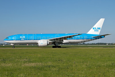 KLM Asia (KLM Royal Dutch Airlines) Boeing 777-206 ER PH-BQF (msn 29398) AMS (Arnd Wolf). Image: 908391.