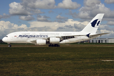 Malaysia Airlines Airbus A380-841 F-WWSU (9M-MNA) (msn 078) XFW (Gerd Beilfuss). Image: 908214.