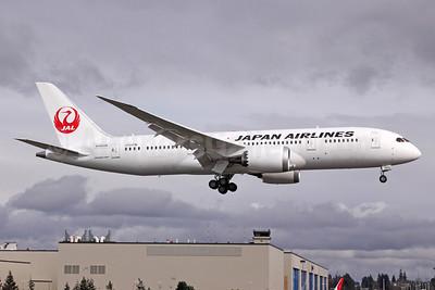 JAL-Japan Airlines Boeing 787-846 N1003W (JA822J) (msn 34832) PAE (Michael B. Ing). Image: 908064.