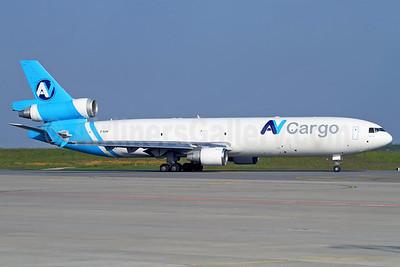 AV Cargo Airlines McDonnell Douglas MD-11F Z-BAM (msn 48746) LGG (Rainer Bexten). Image: 912431.