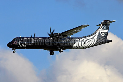 Air New Zealand Link-Mount Cook Airline ATR 72-600 ZK-MVA (msn 1051) (All Blacks-Crazy about Rugby) TLS (Eurospot). Image: 909581.