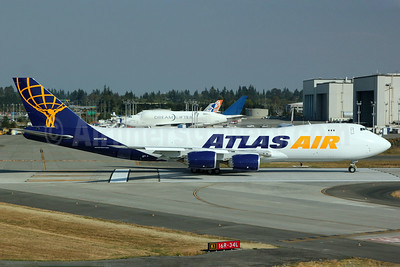 Atlas Air Boeing 747-87UF N852GT (msn 37571) PAE (Nick Dean). Image: 909331.