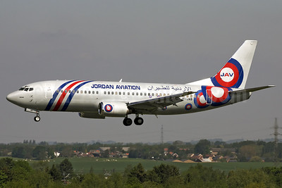 Jordan Aviation Boeing 737-33A JY-JAB (msn 23630) LGG (Rainer Bexten). Image: 908338.